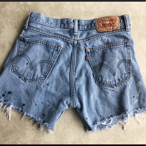 Levi's Pants - Levi Cutoff Shorts
